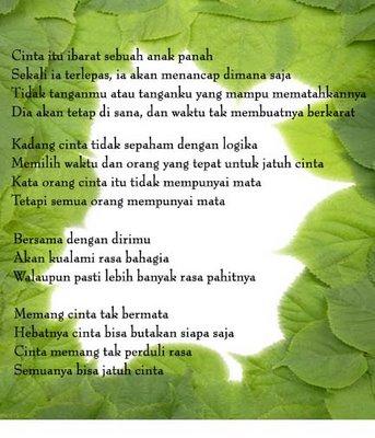 Puisi Cinta on Puisi Cinta    Suci Rahma23